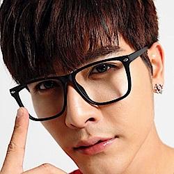 BuyGlasses 韓流方型銀點平光眼鏡