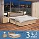 柏蒂家居-瑞莎3.5尺單人房間組-三件組(3.5尺床頭箱+抽屜床底+床頭櫃) product thumbnail 1