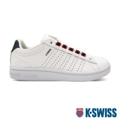 K-SWISS Court Casper II S時尚運動鞋-男-白/藍/紅