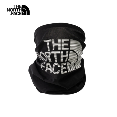 The North Face北面男女款黑色防曬保暖戶外圍脖 55IYJK3