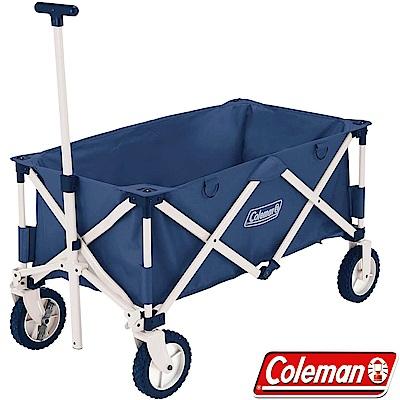 Coleman 34613藍 懷舊四輪露營拖車 野餐車/購物車/菜籃車/寵物座車