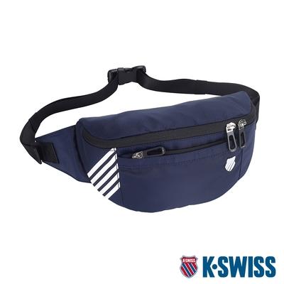 K-SWISS AT FANNY BAG 2運動腰包-深藍