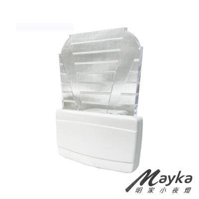 明家Mayka LED光控自動感應小夜燈-白光 GN-002
