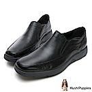 Hush Puppies WOLFHOUND 紳士直套式皮鞋-黑