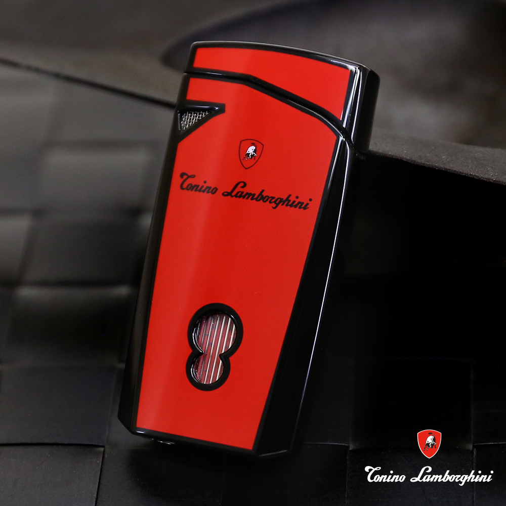 藍寶堅尼Tonino Lamborghini MAGIONE LIGHTER打火機(紅黑)