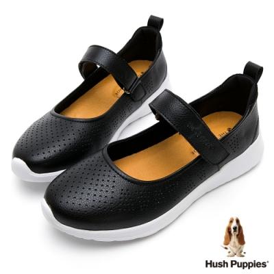 Hush Puppies MaryJane 輕量女休閒鞋-黑