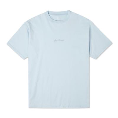 CONVERSE JACK PURCELL TEE 男女 短袖上衣 天藍色 10021630-A07