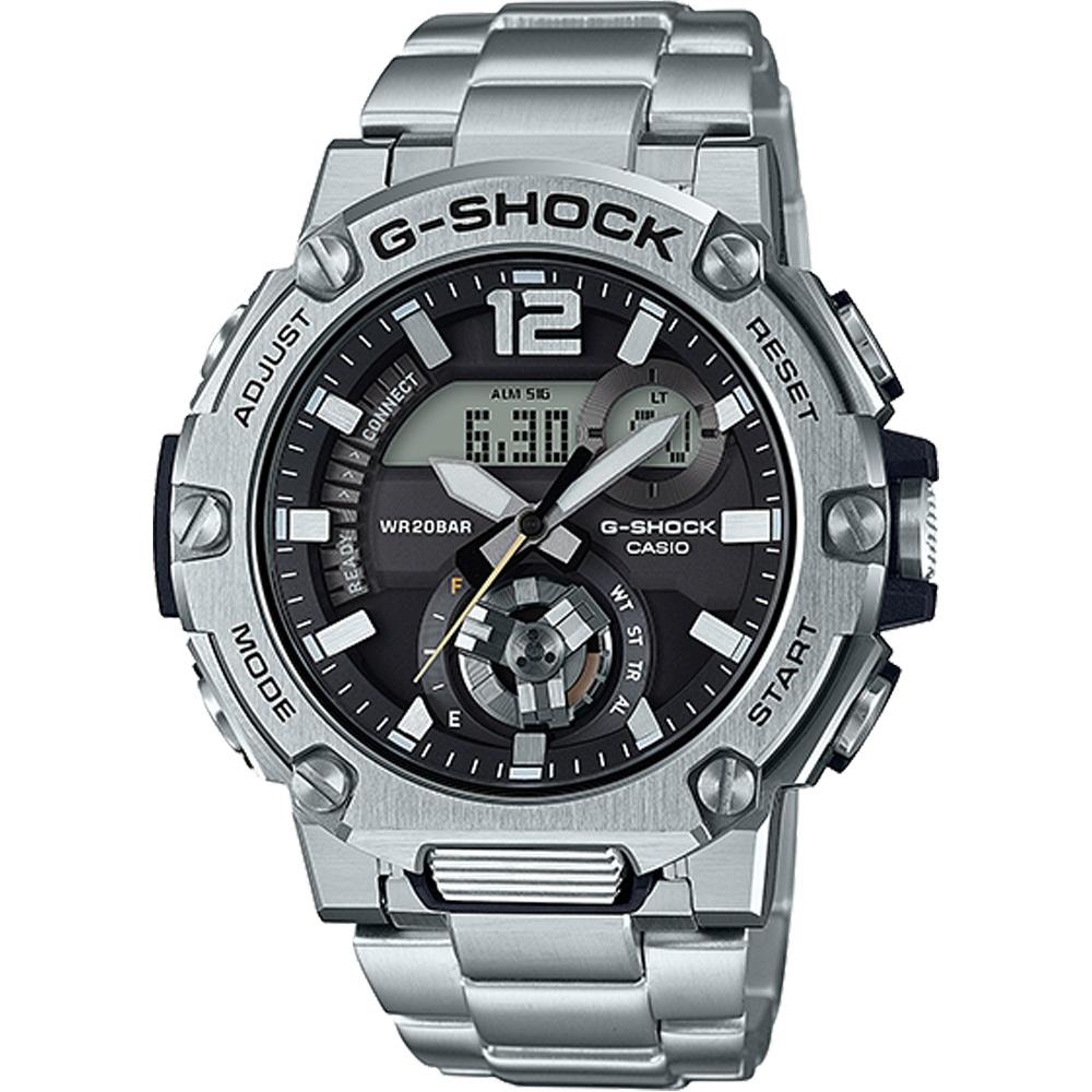 CASIO G-SHOCK 藍牙連線功能運動錶(GST-B300SD-1A)