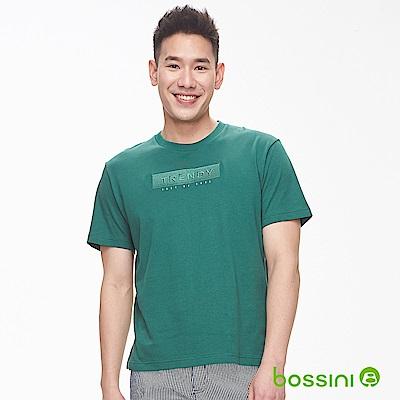 bossini男裝-圓領短袖上衣03亮綠