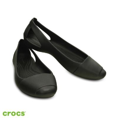 【戶外季限定】Crocs卡駱馳 (女鞋) 仙安娜女士平底鞋
