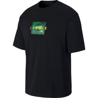 NIKE 短袖上衣 休閒 運動 健身 路跑  男款 黑 CJ6222010 AS M J SPRT DNA SS CREW