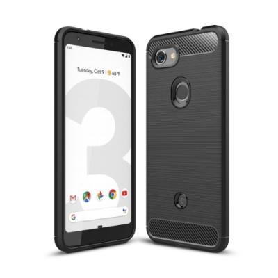 PKG Google Pixel3A  防護殼-抗指紋-精緻黑