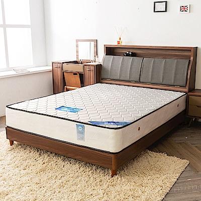 時尚屋 維爾德防潑水二線5尺雙人獨立筒彈簧床墊
