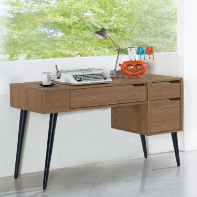 AS-唐娜4尺胡桃色書桌-121x61x77cm