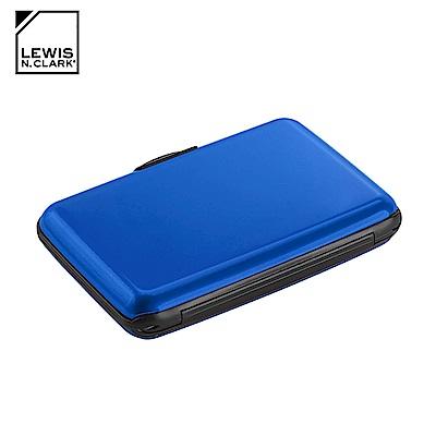 Lewis N. Clark RFID屏蔽鋁製卡片盒 1201 / 藍色