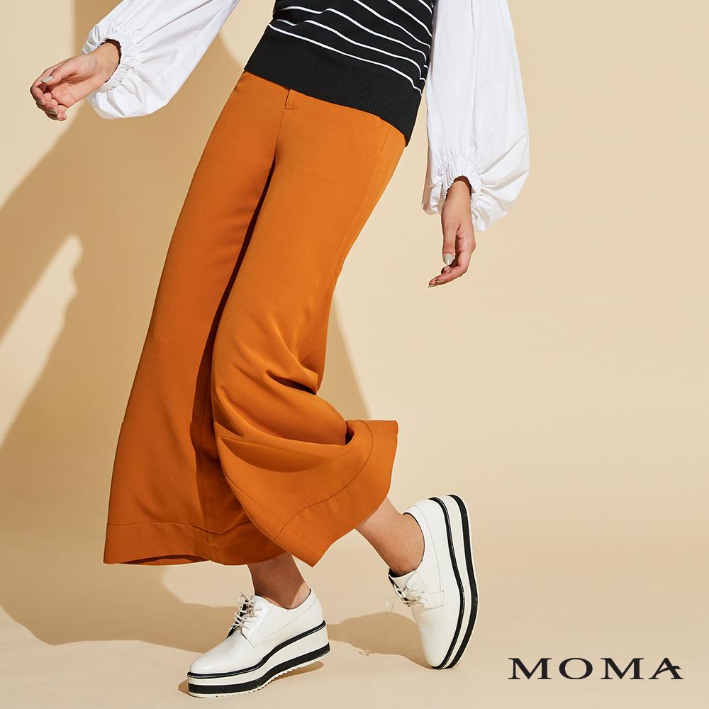 網路獨賣 | MOMA 雙釦長寬褲