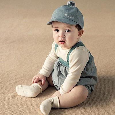 韓國 Happy Prince 條紋球球素色繡字帽舌帽