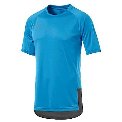 PUMA-男性專業足球系列ftblNXT Pro短袖T恤-天藍色-歐規