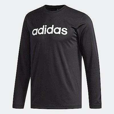 adidas Logo 長袖上衣 男 DH3986
