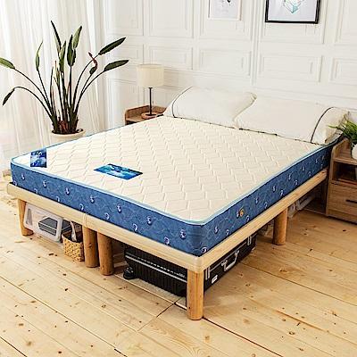 時尚屋 韋納爾日式經典5尺雙人獨立筒彈簧床墊
