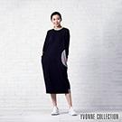 YVONNE COLLECTION 幾何運動風長袖洋裝