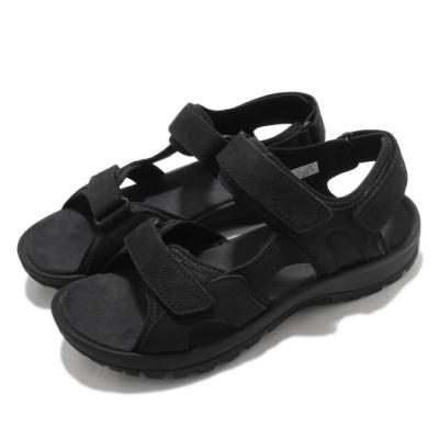 Merrell 涼鞋 Sandspur 2 Convert 男鞋 魔鬼氈 外出 輕便 郊遊 踏青 黑 ML002715
