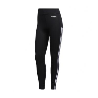 adidas 緊身褲 3S 78 PS Tigh 運動 女款 愛迪達 三線 內搭褲 健身 重訓 路跑 黑 白 GD5774