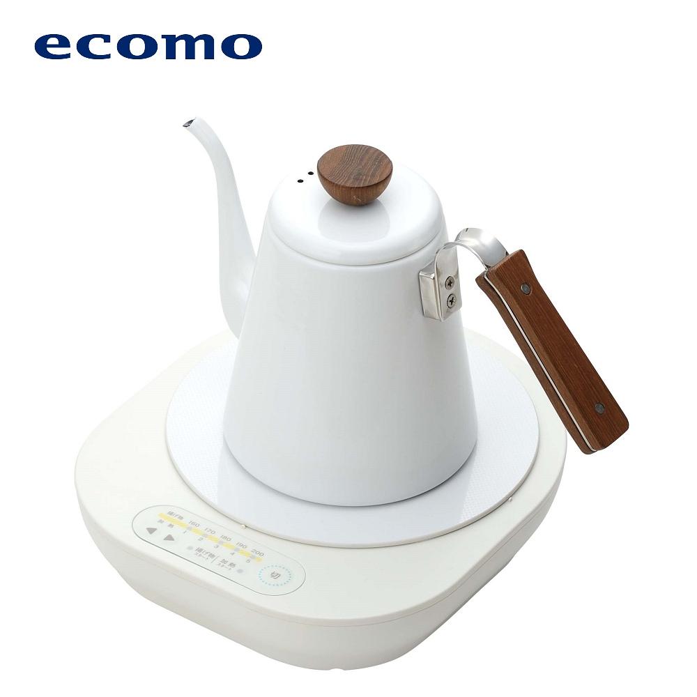 ecomo cotto cotto IH電磁爐 x 琺瑯細口壺組