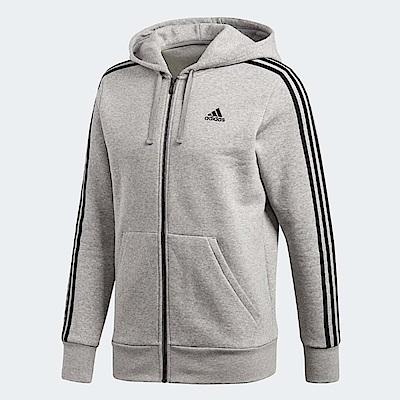 adidas 外套 3 Stripes Fleece 男款