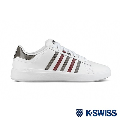 K-SWISS Pershing Court Light SE運動鞋-女-白
