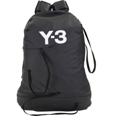 Y-3 Bungee 跳傘高科技尼龍材質後背包(黑色)