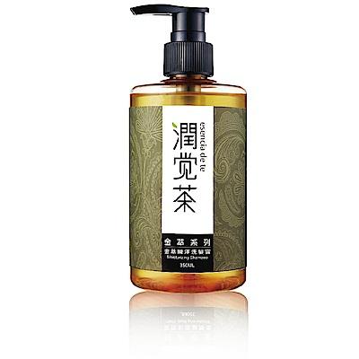 茶寶茶籽 金萃瞬澤茶籽洗髮露+潤髮乳+護髮素(共6瓶 特惠組)