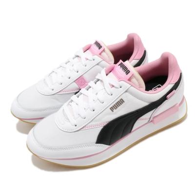 Puma 休閒鞋 Future Rider 聯名 運動 女鞋 基本款 簡約 Von Dutch 穿搭 白 粉 37453401