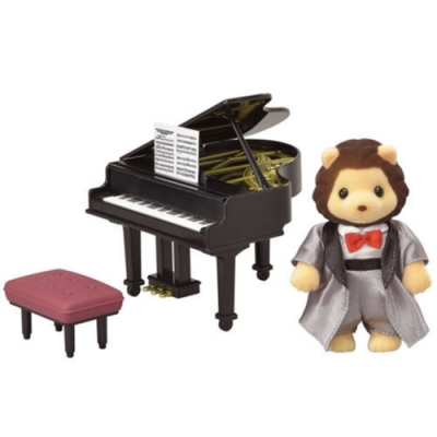 任選日本 森林家族 TOWN鋼琴演奏獅子EP29130 EPOCH