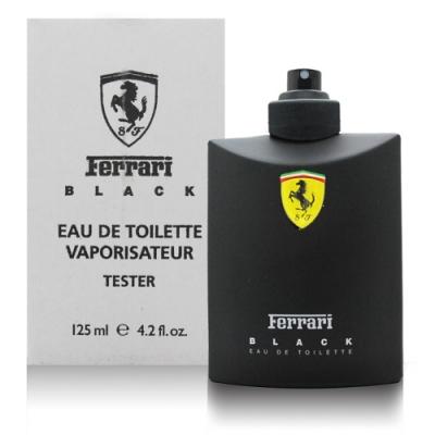 Ferrari 法拉利 黑色法拉利 男性淡香水125ml