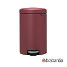 Brabantia  NEWICON環保垃圾桶-12L(溫莎紅)