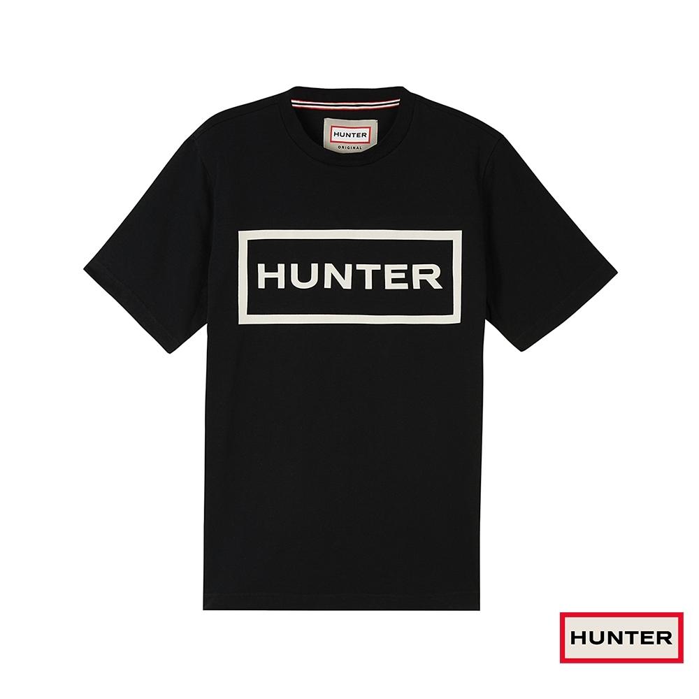 HUNTER - 男裝 - 經典LOGO 短袖上衣 - 黑