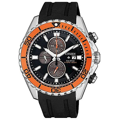 CITIZEN 星辰 PROMASTER 光動能限量雙色潛水腕錶CA0718-13E