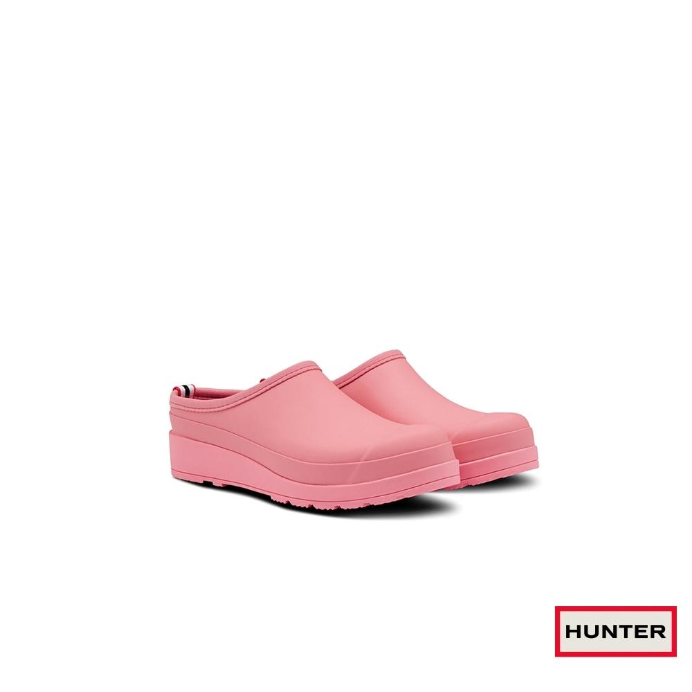 HUNTER -女鞋-PLAY霧面穆勒鞋-杏桃粉