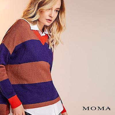 限時商品 | MOMA 多彩條紋針織上衣