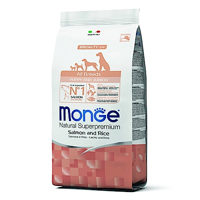 Monge Natural 天然特選 幼犬 鮭魚配方 0.8KG 兩包組