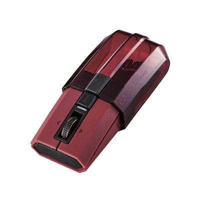 ELECOM CapClipPro攜帶型藍芽滑鼠- 紅