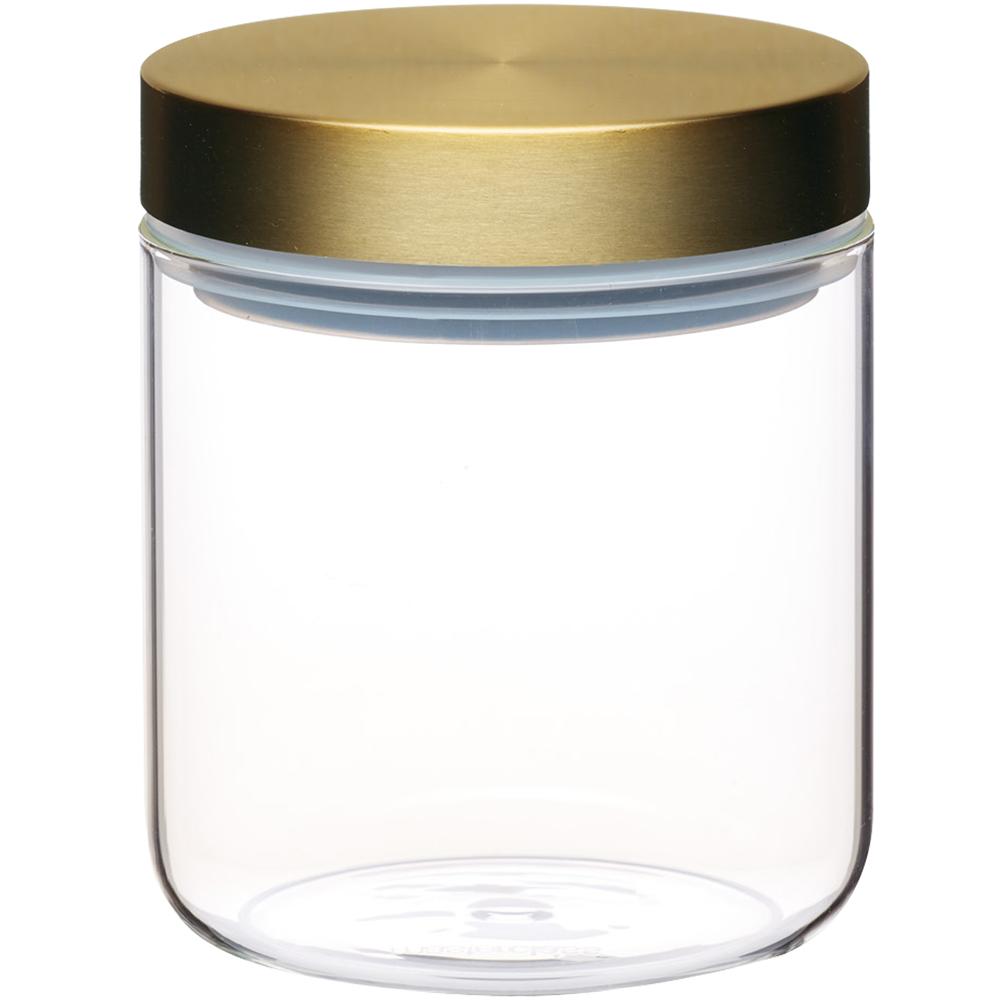 《Master》直筒玻璃密封罐(700ml)
