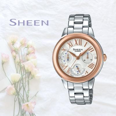CASIO卡西歐 典雅秀氣腕錶(SHE-3059SG-7A)