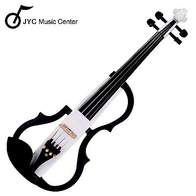 JYC SV-150S靜音提琴(白色)~雙輸出/三段EQ