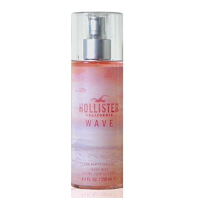 Hollister Wave 加州夕陽女性淡香精身體噴霧 250ml 無外盒包裝