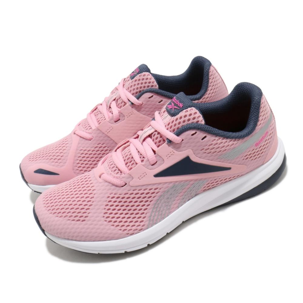 Reebok 慢跑鞋 Endless Road 運動 女鞋 輕量 透氣 舒適 避震 球鞋 穿搭 粉 藍 FV1622