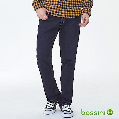 bossini男裝-保暖舒適牛仔褲01霧靛藍