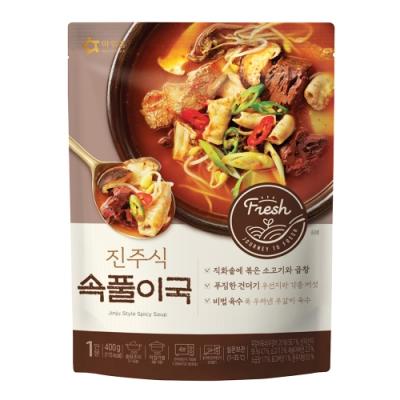 韓味不二 韓國原裝OURHOME 普州辣牛肉湯(400g)