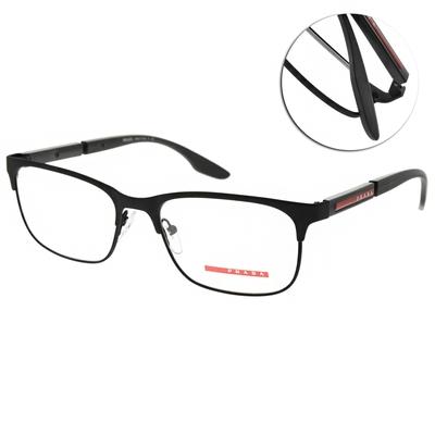 PRADA光學眼鏡 經典眉框款/黑 #VPS52N DG0-1O1